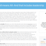 teacher leadership writing