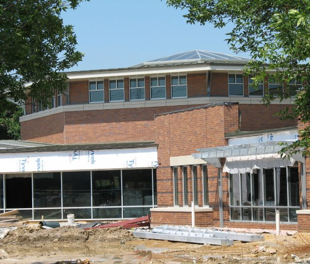 The current library was added to in 2008 with a building expansion.
